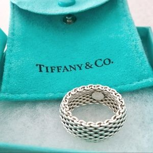 Tiffany Mesh Ring, Size 6